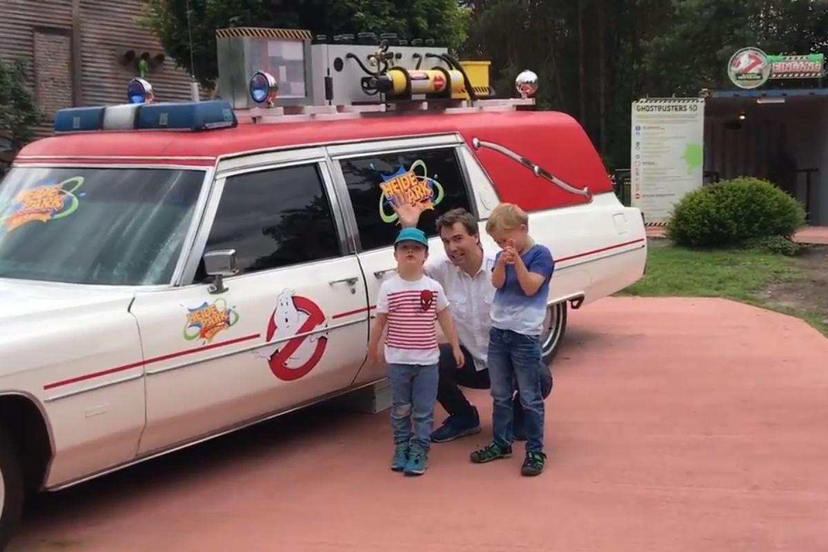 Heide Park Ghostbusters 5D