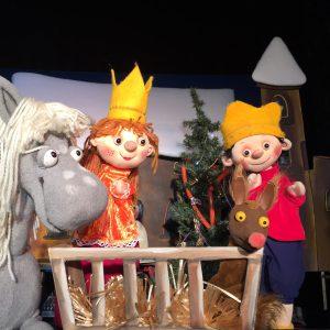 der kleine koenig feiert weihnachten Kammerpuppenspiele Bielefeld