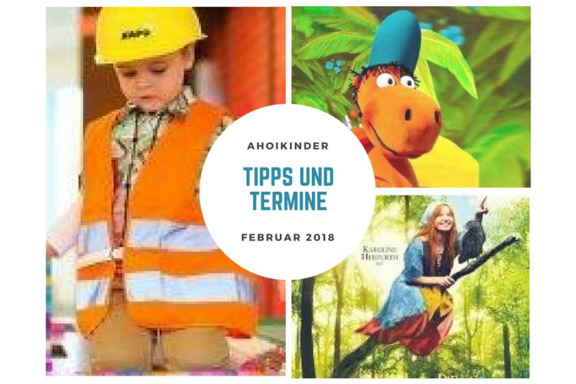 Hamburg mit Kindern Februar 2018 Ausflüge Veranstaltungen Theater Kid at work