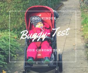 Joie Chrome DLX Test