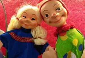 Puppical Singing Puppets Tiebarg Kasper und der Osterhase