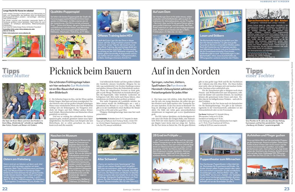 Hamburg mit Kindern Ahoikinder Ute Vaut