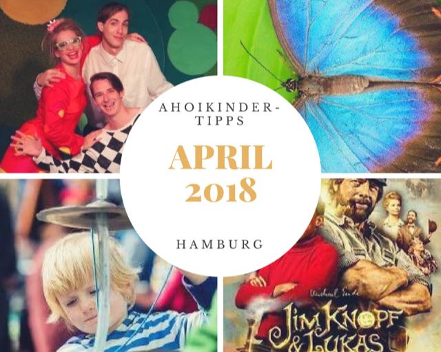 April 2018 Hamburg mit Kindern
