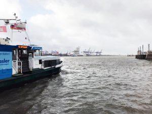 Fähre Elbe HVV-Schiff HAdag
