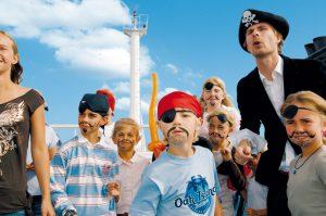 Kinder Fähre Schweden TT Lines Piratenclub
