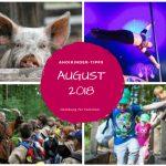 August: Tipps und Termine