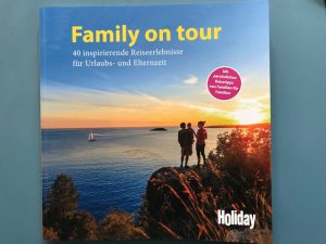 family on tour Uta de Monte