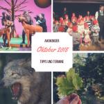 Tipps und Termine: Oktober 2018