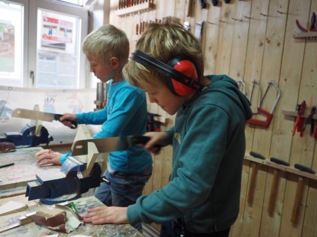 Werkkiste Werken mit Kindern Kurse