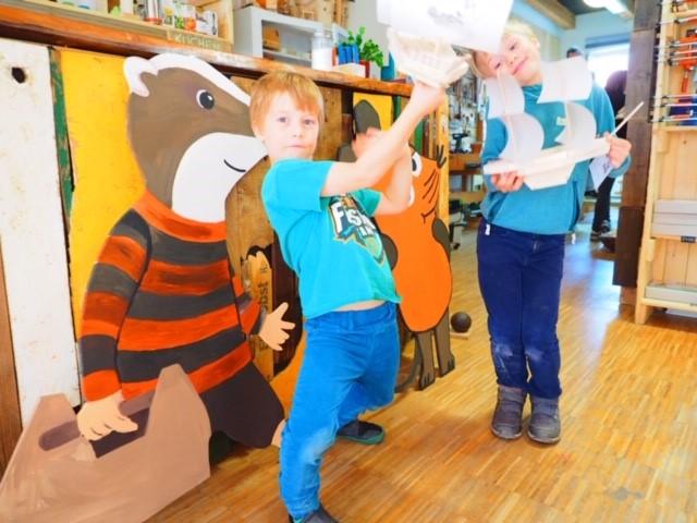 Werkkiste Segelboot bauen Hamburg Werken mit Kindern
