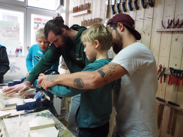 Werkkiste Werken mit Kindern Werkstatt Kurse Kinder