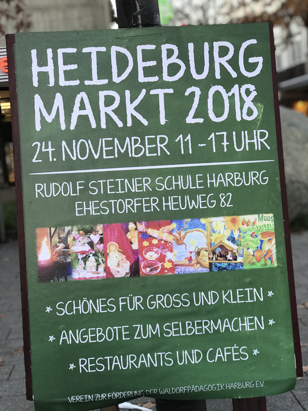 Heideburgmarkt 2018 Rudolf-Steiner-Schule Harburg