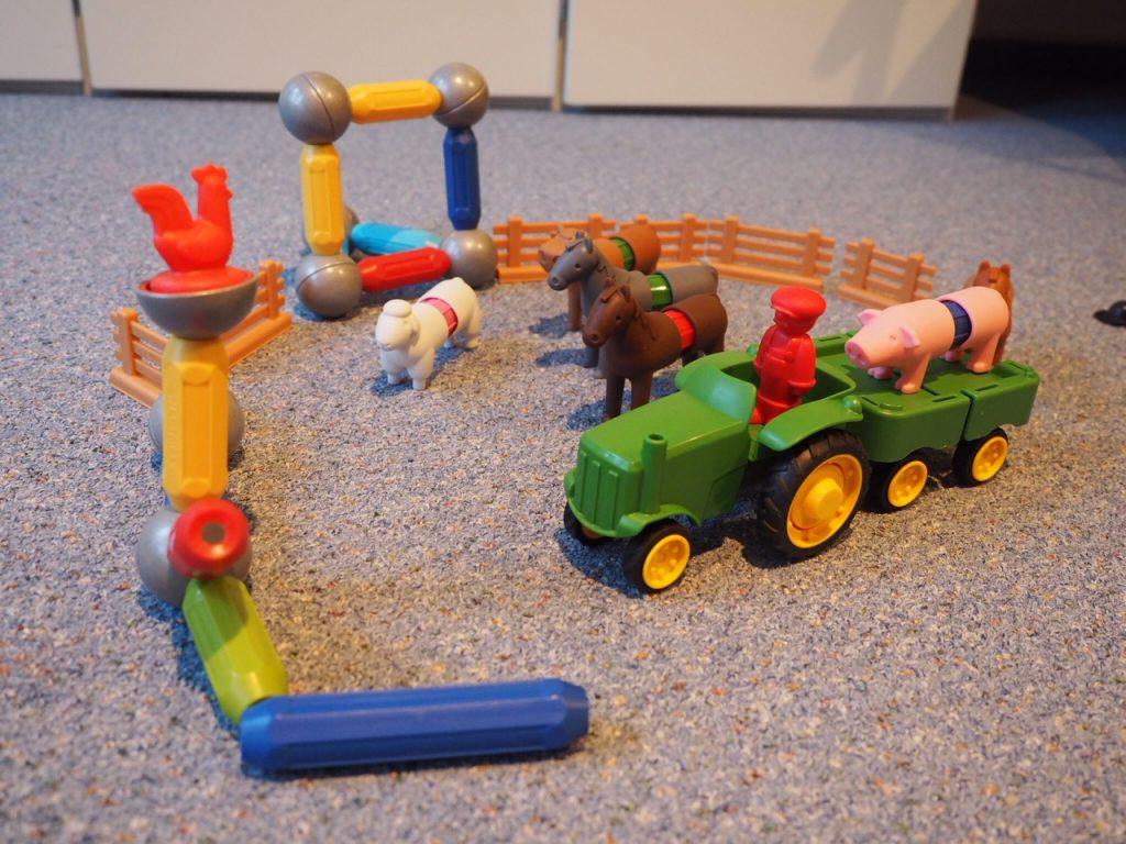 SmartMax Riesenmagnete  Magnete Spielzeug My first animals