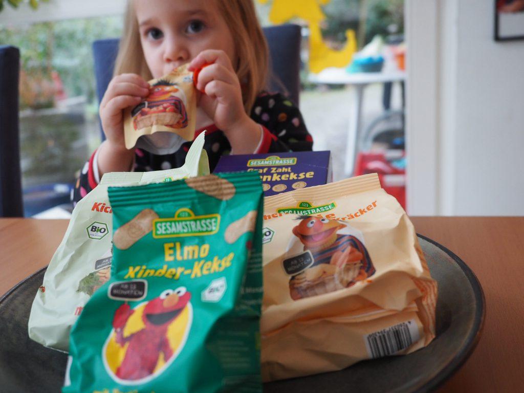 Sesamstraße Bio zuckerfreie Snacks Kekse Cracker für Kinder ab 1 Gesunde Süßigkeiten für Kinder