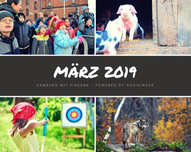 Hamburg mit Kindern Tipps und Termine März 2019