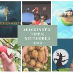 Tipps und Termine: September 2019